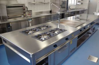 aménagement cuisine pro