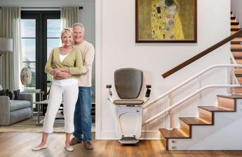 Escaliers pour personne âgée
